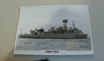 1964 HMS Fife Destroyer  warship framed picture